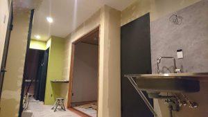 和室などの内装が完成間近です