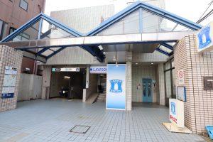 志茂駅からの行き方 エレベーター使用ルート(コンフォートスペース志茂)
